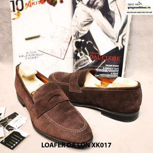 Giày lười Penny loafer nam da lộn XK017 Size 46 003
