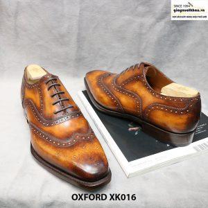 Giày tây nam Oxford Full Wingtip XK016 Size 46 005