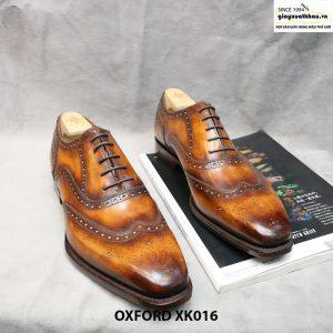 Giày tây nam Oxford Full Wingtip XK016 Size 46 001