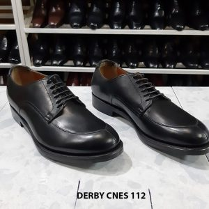 Giày tây nam màu đen đẹp Derby Cnes 112 Size 39+41+44 001