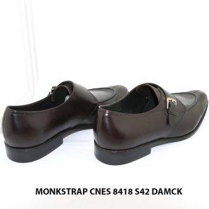 Giày không dây nam Monkstrap Cnes 8418 Size 42 004