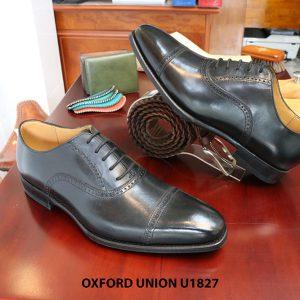 Giày tây nam da bò Oxford Union U1827 size 39 006