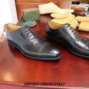 Giày tây nam da bò Oxford Union U1827 size 39 001