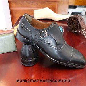 Giày da nam cao cấp Monkstrap Marengo M1914 size 41 006