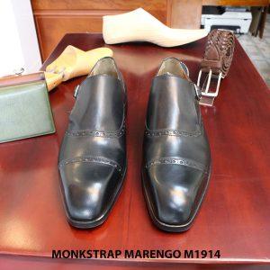 Giày da nam cao cấp Monkstrap Marengo M1914 size 41 001