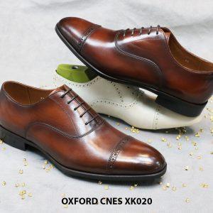 Giày tây nam đẹp Oxford CNES XK020 Size 41 006