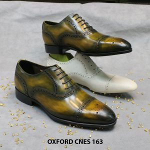 Giày tây nam Patina Oxford CNES 163 Size 41 006