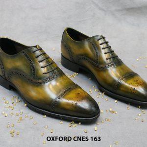 Giày tây nam Patina Oxford CNES 163 Size 41 001