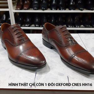 Giày da nam size to big size Oxford CNES HH16 size 45 001
