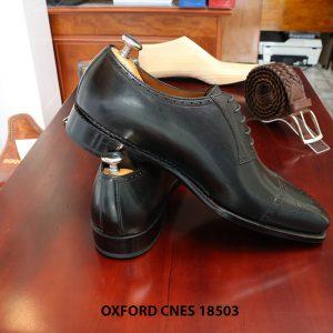 Giày da nam hàng hiệu Oxford CNES 18503 size 43 005