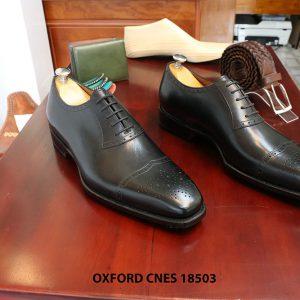 Giày da nam hàng hiệu Oxford CNES 18503 size 43 001