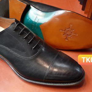 Giày da nam đế da oxford CNES TK03 Size 44