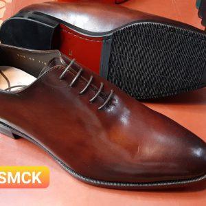 Giày da nam đánh Patina Oxford CNES 1103 size 46
