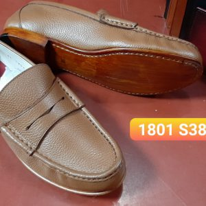 Giày lười nam nhỏ gọn Loafer cnes 1801 size 38 001 001