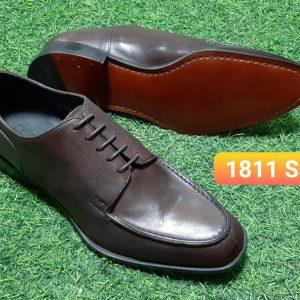 Giày tây mui hở Oxford Derossi 1811 Size 39