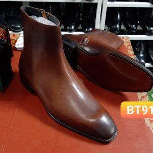 Giày tây cổ cao có dây kéo Boot BT911 Size 40