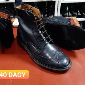Giày Boot nam Wingtip buộc dây CNES KMA Size 40