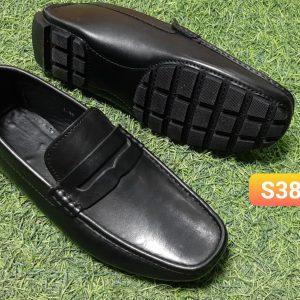 Giày lười nam xỏ chân da bò nam L
