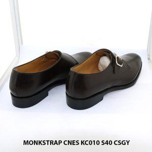 Giày tây nam Monkstrap CNES KC010 Size 40 5005