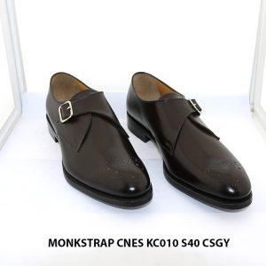 Giày tây nam Monkstrap CNES KC010 Size 40 001