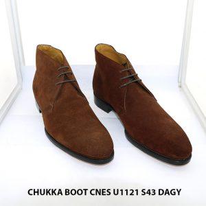 Giày tây nam cổ lửng da lộn Chukka Boot CNES U1121 size 43 001