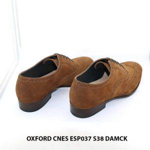 Giày tây nam da lộn Oxford CNES ESP037 size 38 004
