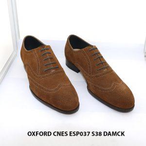 Giày tây nam da lộn Oxford CNES ESP037 size 38 001