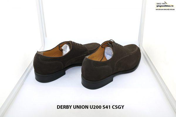 Giày da nam da lộn Derby UNION UR200 size 41 004