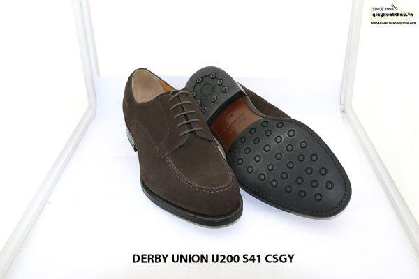 Giày da nam da lộn Derby UNION UR200 size 41 003