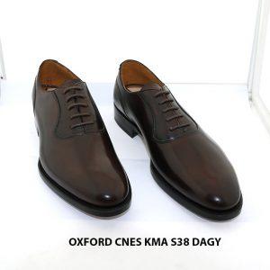 Giày da nam Oxford hàng hiệu CNES KMA size 38 001