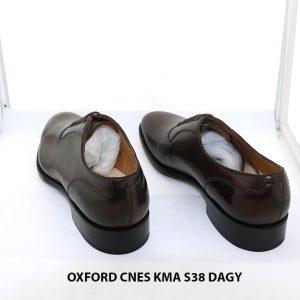 Giày da nam Oxford hàng hiệu CNES KMA size 38 003