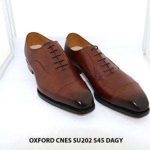 Giày da nam chính hiệu Oxford Cnes SU202 size 45 001