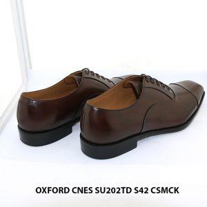 Giày da nam cao cấp Oxford CNES SU202TD size 42 005