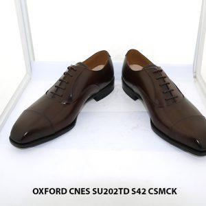 Giày da nam cao cấp Oxford CNES SU202TD size 42 002