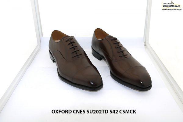 Giày da nam cao cấp Oxford CNES SU202TD size 42 001