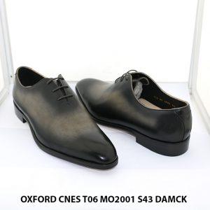 Giày da nam Oxford đánh Patina CNES T06 size 43 002