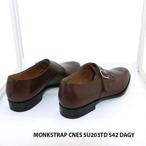 Giày da nam có khoá Monkstrap CNES SU203TD size 42 004