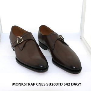 Giày da nam có khoá Monkstrap CNES SU203TD size 42 001