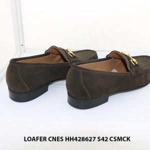 Giày lười nam da lộn Loafer CNES HH424627 size 42 005