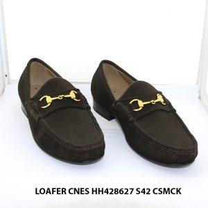 Giày lười nam da lộn Loafer CNES HH424627 size 42 001
