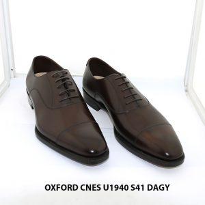 Giày da nam chính hãng Oxford CNES U1940 size 41 001