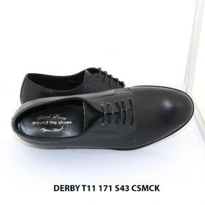 Giày da nam mũi tròn Derby Around The Shoes T11 171 size 43 005