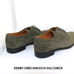 Giày tây nam da lộn Derby CNES HH03S76 Size 42 004
