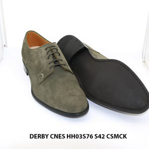 Giày tây nam da lộn Derby CNES HH03S76 Size 42 003