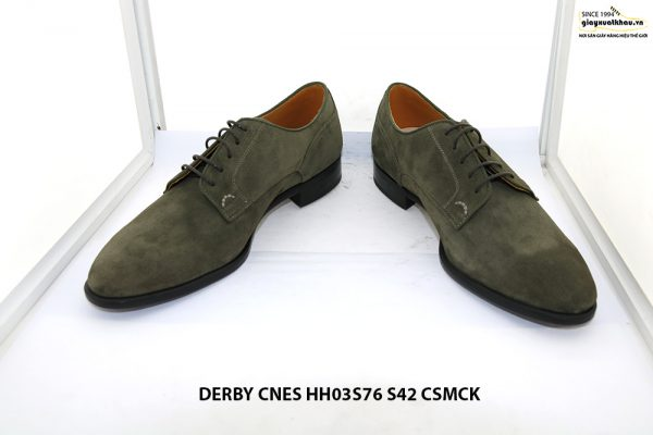 Giày tây nam da lộn Derby CNES HH03S76 Size 42 002
