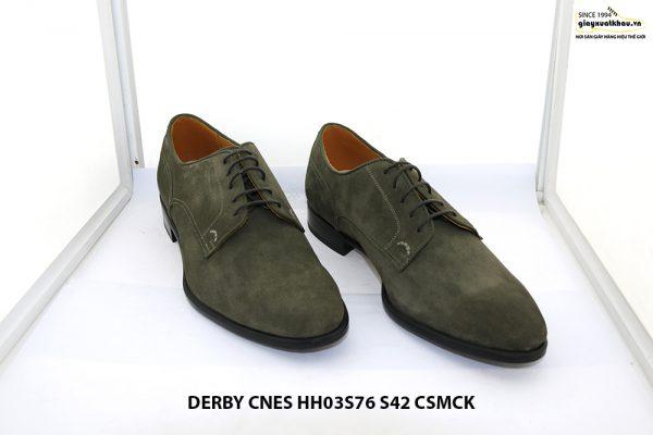 Giày tây nam da lộn Derby CNES HH03S76 Size 42 001