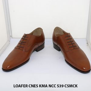 Giày lười nam tăng chiều cao đến 7cm Penny Loafer KMA size 39 002