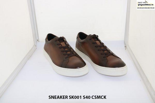 Giày Sneaker da nam thể thao SK001 size 40 001