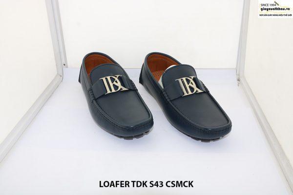 Giày lười nam hàng hiệu Loafer TDK size 43 001