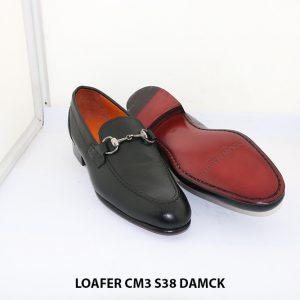Giày lười nam đế da êm chân Loafer CM3 size 38 003